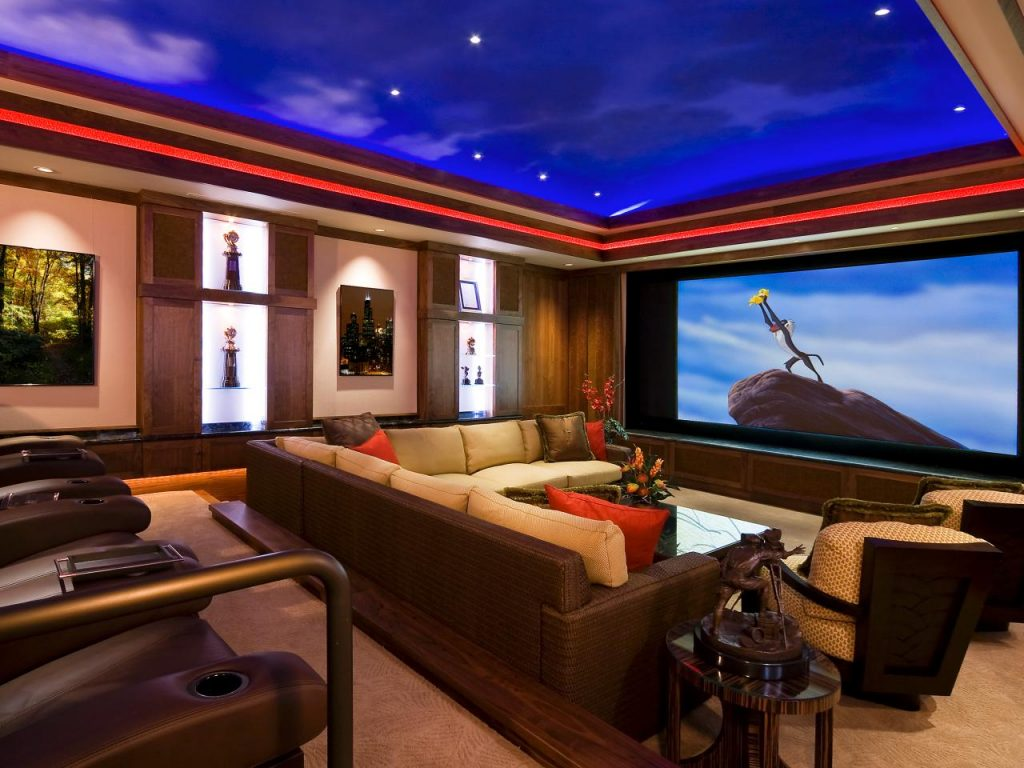 Home Cinema Theaters For Theatrically Challenged