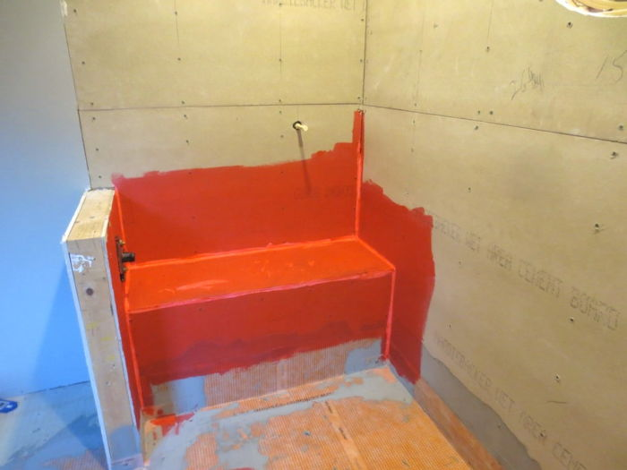 Waterproofing Shower