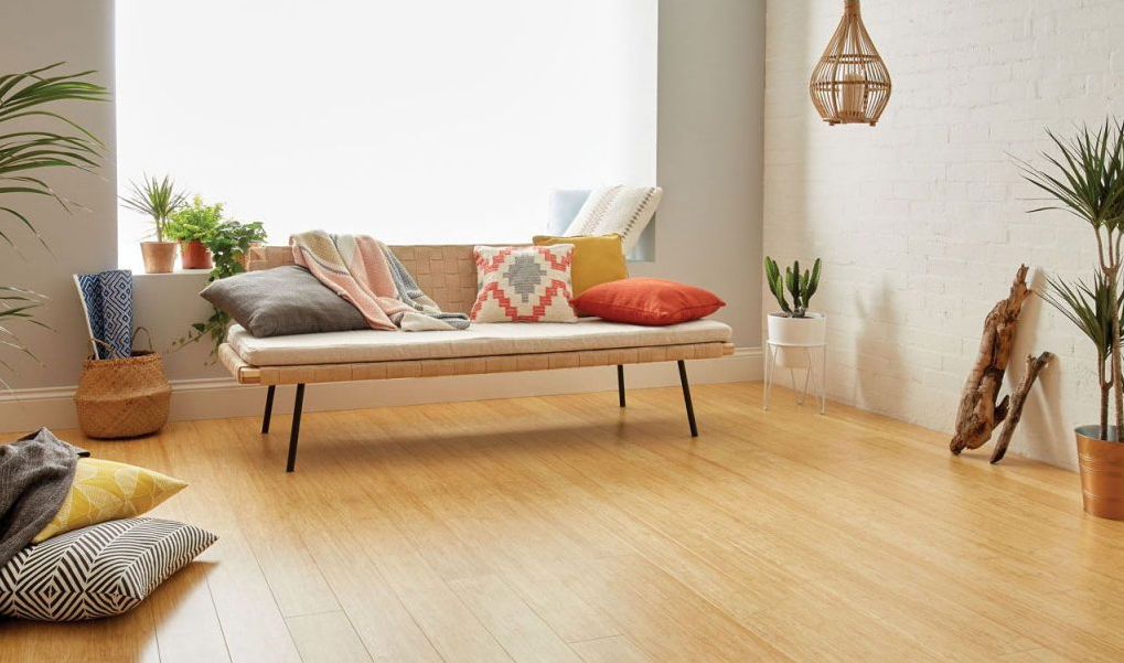 An Environmentally Friendly Option is Bamboo flooring