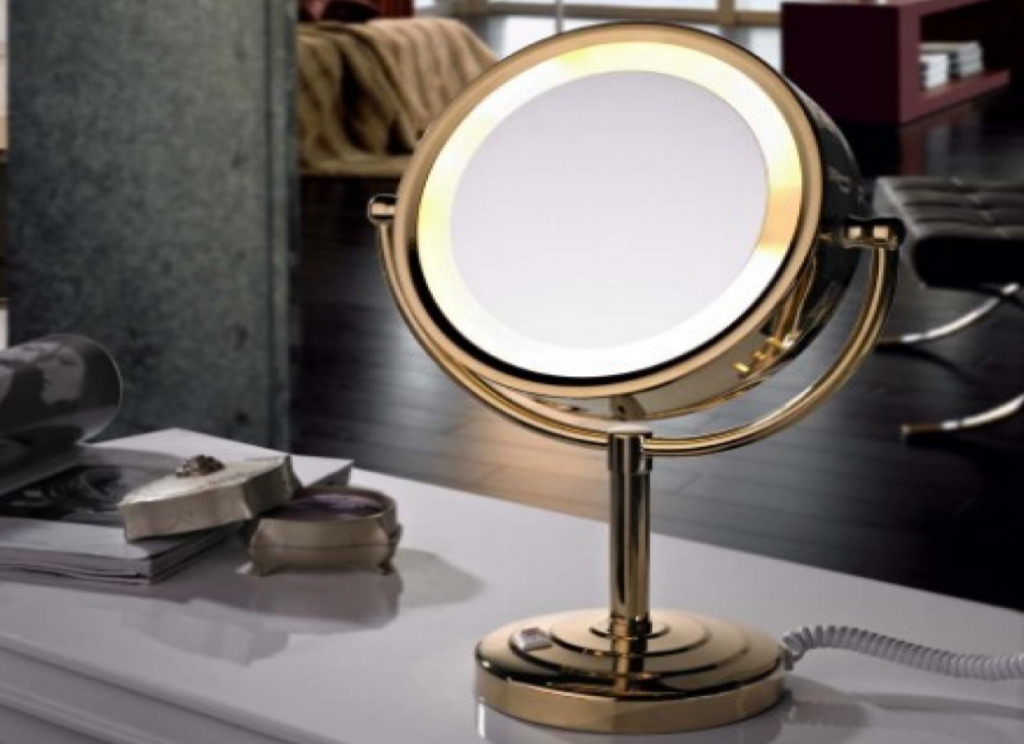 Get The Perfect Look By Makeup Mirror With Lights
