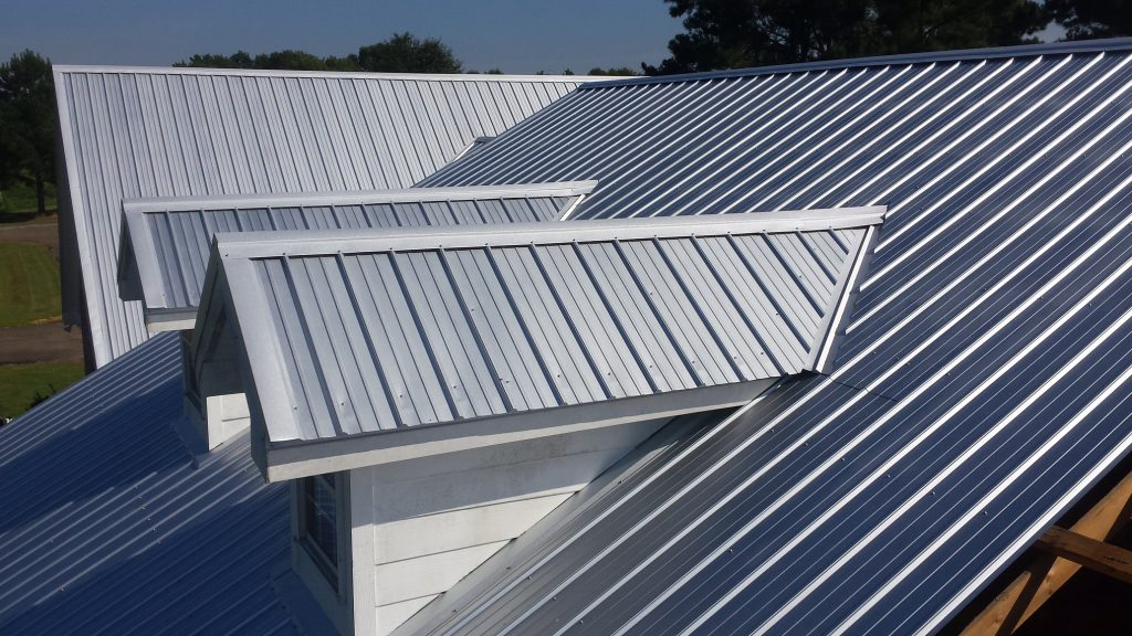 seam metal roof