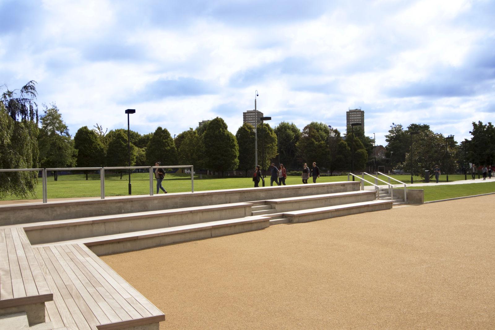Timber seating