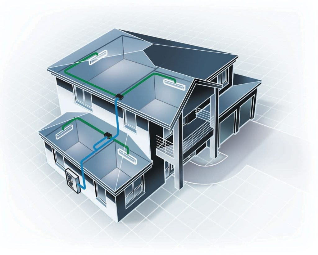 ducted air conditioning System Sunshine Coast